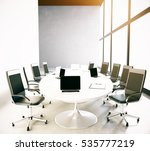 modern conference room interior ... | Shutterstock . vector #535777219