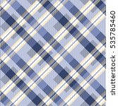 tartan seamless vector patterns ... | Shutterstock .eps vector #535785460