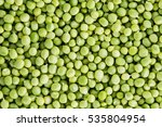 Green Peas Background  Texture...
