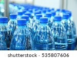 closeup on mineral water... | Shutterstock . vector #535807606