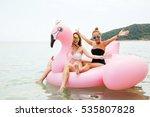 summer lifestyle portrait of...   Shutterstock . vector #535807828