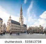 brussels  belgium   november 3  ... | Shutterstock . vector #535813738