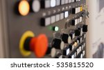 red power button   industrial... | Shutterstock . vector #535815520