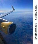 plane engine | Shutterstock . vector #535825303