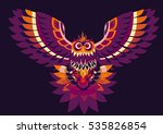 colourful vector illustration... | Shutterstock .eps vector #535826854