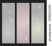 vector background of glowing... | Shutterstock .eps vector #535831354