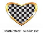 Checkered Racing Flag. Symbolic ...
