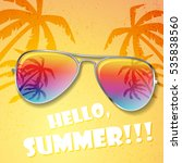 Big Summer Sunglasses With...