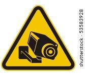 Surveillance Camera Warning...