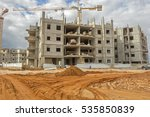 construction of a residential... | Shutterstock . vector #535850839