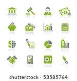 business   finance    natura...   Shutterstock .eps vector #53585764