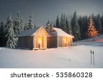 after the storm a strong frost... | Shutterstock . vector #535860328