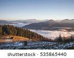 amazing morning landscape | Shutterstock . vector #535865440