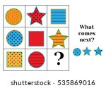 what comes next educational... | Shutterstock .eps vector #535869016