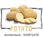 vector simple illustration of... | Shutterstock .eps vector #535872478