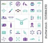 set of universal icons....