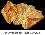 small square sesame puff pastry ... | Shutterstock . vector #535889236