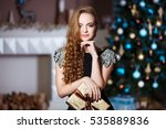 holidays  celebration and...   Shutterstock . vector #535889836