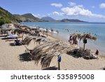 beach on st. kitts | Shutterstock . vector #535895008