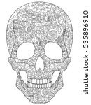 Skull Coloring Book For Adults...