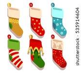 traditional christmas  xmas... | Shutterstock .eps vector #535914604