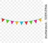 celebrate fkags   Shutterstock .eps vector #535915966