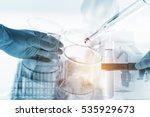 scientists and scientific... | Shutterstock . vector #535929673