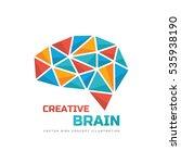 creative idea   business vector ... | Shutterstock .eps vector #535938190