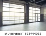 empty interior auto motor... | Shutterstock . vector #535944088