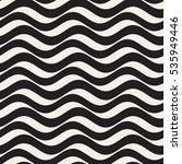 vector seamless black and white ... | Shutterstock .eps vector #535949446