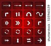 arrow. arrows icons. arrows...