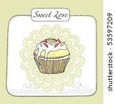Fruit Cupcake Card