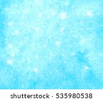 abstract watercolor cold color... | Shutterstock .eps vector #535980538