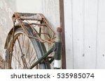 Bicycle Antique  Broken  Old A...
