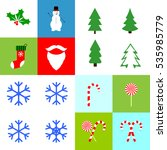 collection christmas icons ...