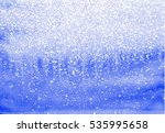abstract watercolor blue ... | Shutterstock . vector #535995658