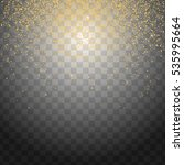 glitter particles background... | Shutterstock . vector #535995664