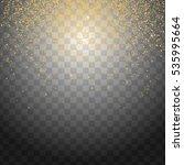 glitter particles background... | Shutterstock . vector #535995664