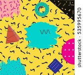 abstract geometric illustration....   Shutterstock . vector #535995670
