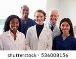 portrait of medical staff in... | Shutterstock . vector #536008156