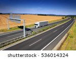 truck on the road | Shutterstock . vector #536014324