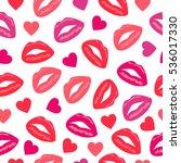 primitive seamless retro... | Shutterstock .eps vector #536017330