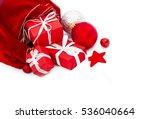 christmas. christmas decoration ... | Shutterstock . vector #536040664