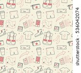travel seamless pattern design. ...
