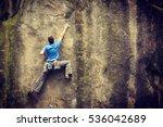 Small photo of Rock climber.