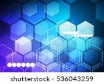 digital conceptual gradient... | Shutterstock . vector #536043259
