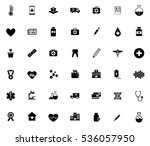 medical icons   Shutterstock .eps vector #536057950