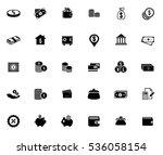money icons   Shutterstock .eps vector #536058154