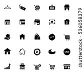 sale icons | Shutterstock .eps vector #536058379