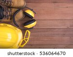 equiement safety standard. | Shutterstock . vector #536064670
